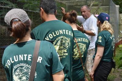 南米ペルーで環境保護に携わるボランティアたち