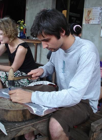 カンボジア、クメール文化コミュニティープロジェクトでのプロジェクトアブロードボランティア