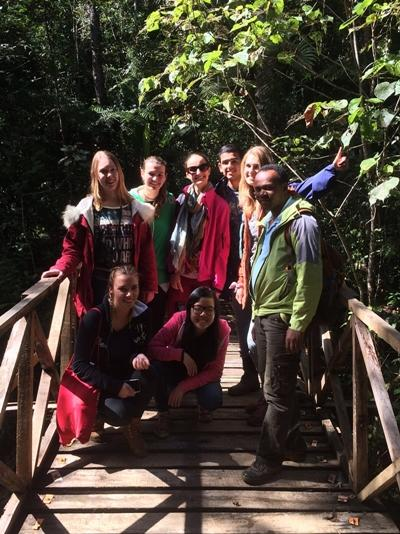 プロジェクトアブロードボランティア マダガスカルのジャングルツアー