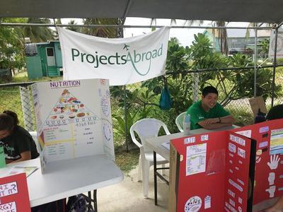 中米ベリーズでヘルスフェアに貢献する日本人インターン