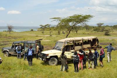 高校生の海外ボランティア ケニアで環境保護に貢献する高校生ボランティアたち