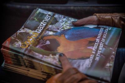 南米ボリビアで海外インターンシップィア ジャーナリズムインターンシップ英文雑誌の発行に貢献!