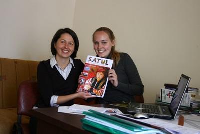 ヨーロッパ、ルーマニア、ジャーナリズムプロジェクト、印刷するスタッフとインターン