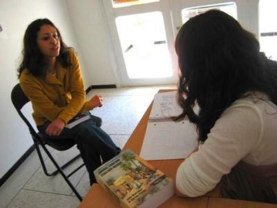 南アフリカで英語留学中の学生