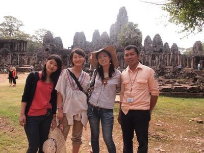 カンボジアで海外ボランティアをしながらクメール語留学!