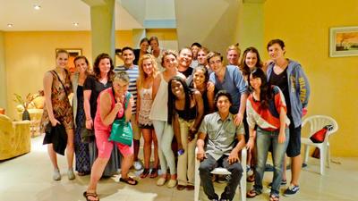 南米エクアドルでスペイン語留学+異文化交流を楽しむボランティアたち