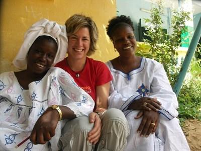 セネガル、ウォロフ語を現地の女性から学ぶプロジェクトアブロードボランティア
