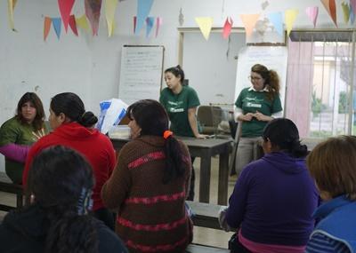 アルゼンチン、法律人権問題に関して子どもに教育するプロジェクトアブロードボランティア