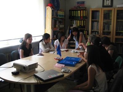 モンゴル、法律人権プロジェクト、スタッフとボランティア