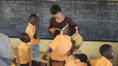 長期海外ボランティア ガーナの学校で子供たちへの教育を通した国際協力