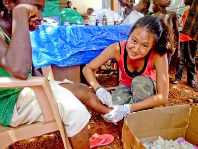 西アフリカのガーナで公衆衛生の海外インターンシップ