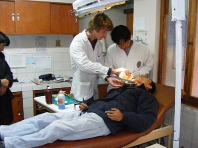 ペルー、歯科プロセスを観察するプロジェクトアブロードボランティア