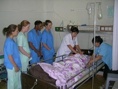 モンゴルで看護師の海外インターンシップ 現地の病院での看護活動