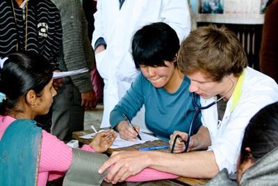 南アジアのネパールで看護師の海外インターンシップ