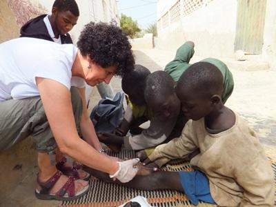セネガル、子どもと働く、看護ボランティア