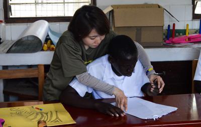 タンザニアで作業療法の国際経験 日本人インターン