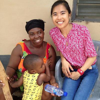 アフリカのガーナで国際インターンシップ 地域コミュニティに出向いて医療アウトリーチ活動