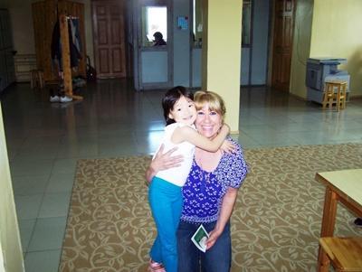 サモアでボランティア活動する管理栄養士