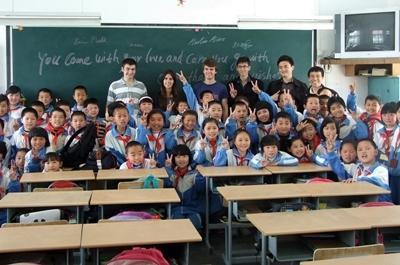 中国、教育プロジェクト、ボランティア