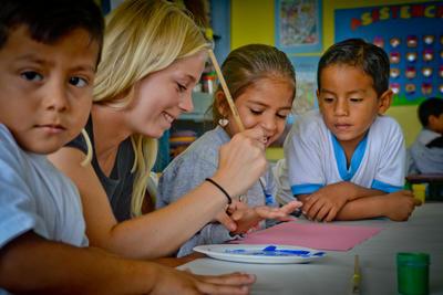 南米エクアドルで教育の海外ボランティア