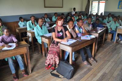 マダガスカルで学校教育! 現地の学校で語学を教えるボランティア