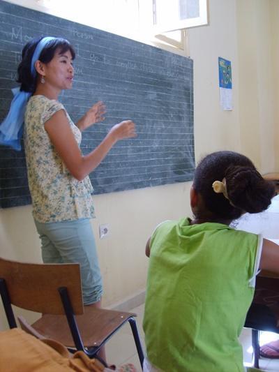 モロッコでがんばる日本出身の教育ボランティア