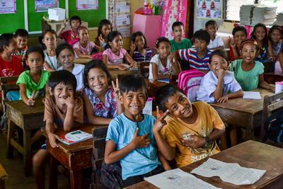 フィリピンで英語教師の海外ボランティア 現地の子供たちの様子