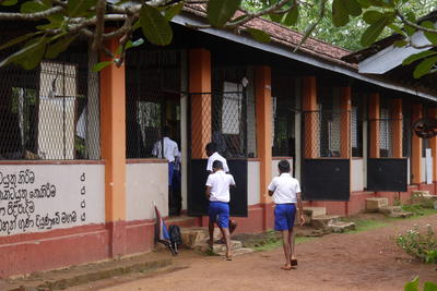 スリランカで英語を教える海外ボランティア