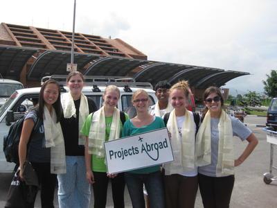 プロジェクトアブロードと共に海外ボランティア!ネパールに到着した日本人ボランティア