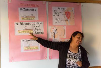 ボリビアで海外医療インターンシップ インターンのための医療ワークショップ