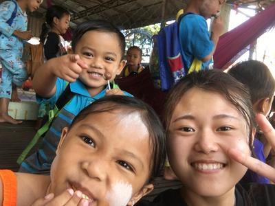 カンボジアのケアプロジェクトで第1に考えた子供たちの成長