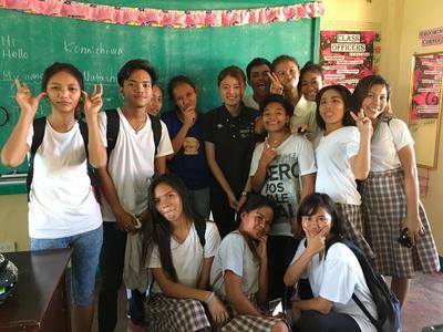 フィリピンの生徒たちに日本語を教えた日本語教育プロジェクト