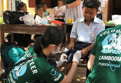 高校生ボランティアが抱える途上国の医療活動に携わるという夢