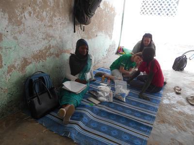 ケアボランティアとしてルワンダの様々な場を訪れたアウトリーチ活動