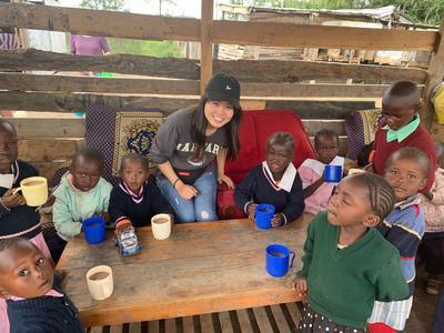 ケアプロジェクトを通じて沢山エネルギーをくれたケニアの子ども達