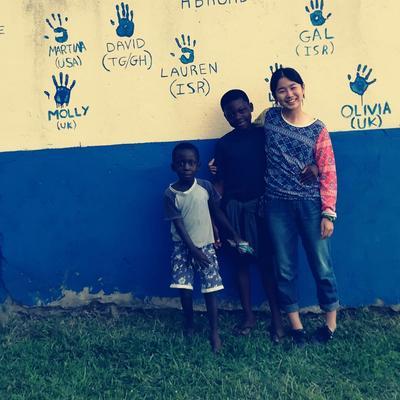 ガーナの子ども達との友情が育まれたボランティア活動