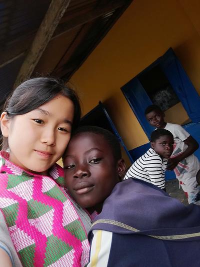 高校生ボランティアが自分の夢を考え直すきっかけとなったガーナの子ども達