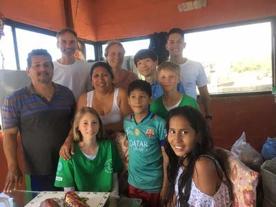 教育ボランティア活動のために初めての海外渡航で向かったエクアドル