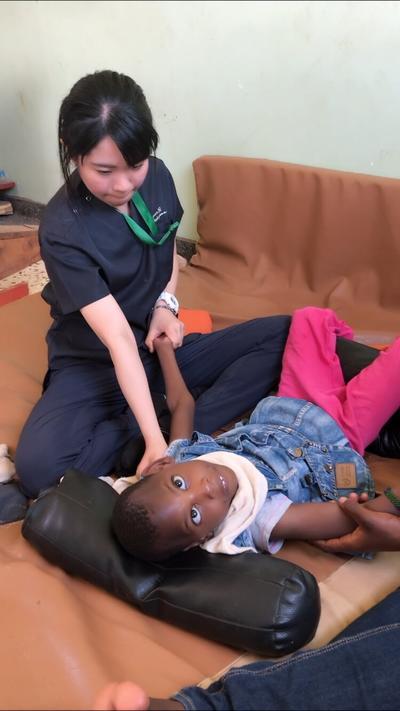 タンザニアでのインターンシップで作業療法士として携わった途上国の医療