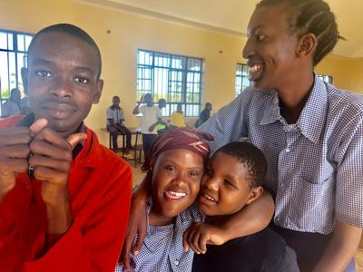 タンザニアの人々と仲が深まったコミュニケーション