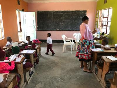 タンザニアの子どもたちに出会ったデイケアセンターでのボランティア